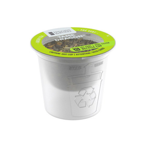 The latest innovation from the RealCup(TM) brand of single-serve capsules - Higgins & Burke(R) tea in a recyclable EcoCup(TM) (CNW Group/RealCup(TM))
