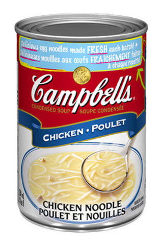 Campbell's® iconic Condensed Chicken Noodle Soup was first introduced in 1934. The first soup of its kind, it was an important innovation for the food industry. (CNW Group/Campbell Company of Canada)