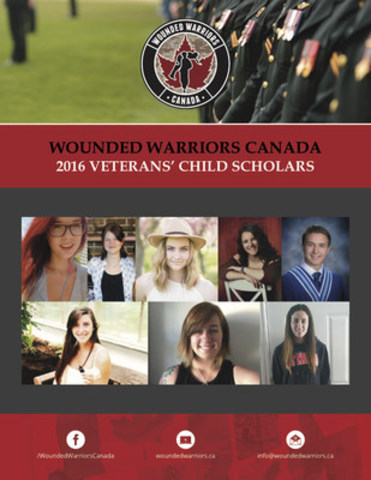 2016 Wounded Warriors Canada Veterans' Child Scholars (CNW Group/Wounded Warriors Canada)