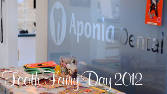 Aponia Dental Tooth Fairy Day Video (CNW Group/Aponia Dental)