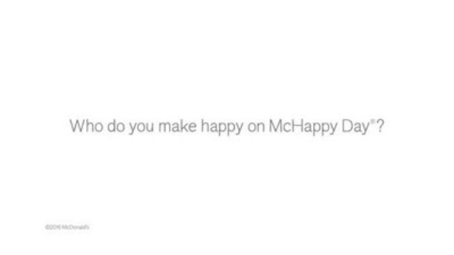 VIDEO: Canadians learn about the families they are helping make happy as part of the McHappy Day fundraiser, Wednesday, May 4th, where $1 from every Big Mac, Happy Meal or hot McCafé beverage goes to support the 14 Ronald McDonald Houses and other local children's charities.