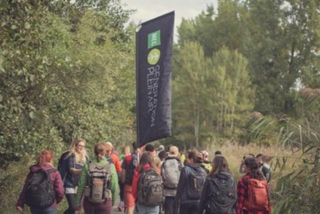 Sommet À vous de jouer de Génération plein air MEC (Groupe CNW/Société des établissements de plein air du Québec)
