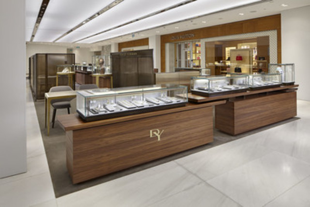 David Yurman reveals new Shop-in-Shop Boutique at Holt Renfrew CF Pacific Centre in Vancouver (CNW Group/David Yurman)