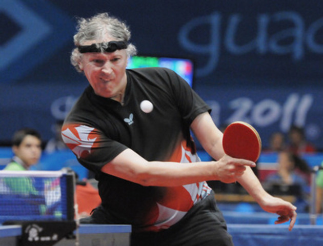 Table Tennis Canada has selected eight athletes for nomination to represent Canada at the Toronto 2015 Parapan American Games, including 2011 Parapan Am Games gold and silver medallist Ian Kent (Eastern Passage, N.S.). Photo: Matthew Murnaghan / Canadian Paralympic Committee  (CNW Group/Canadian Paralympic Committee (CPC))