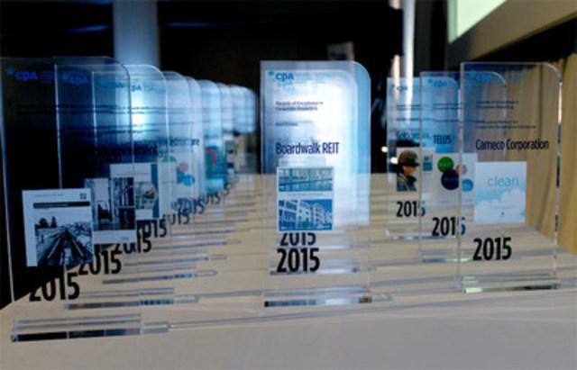 Prix d'excellence en information d'entreprise 2015 (Groupe CNW/CPA Canada)