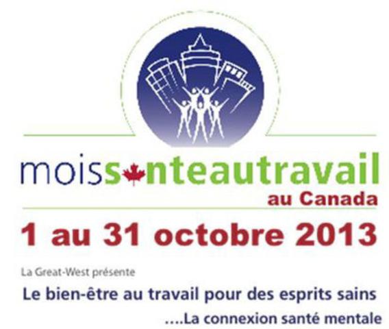 Excellence Canada - Le mois de la santé au travail au Canada (Groupe CNW/Excellence Canada)