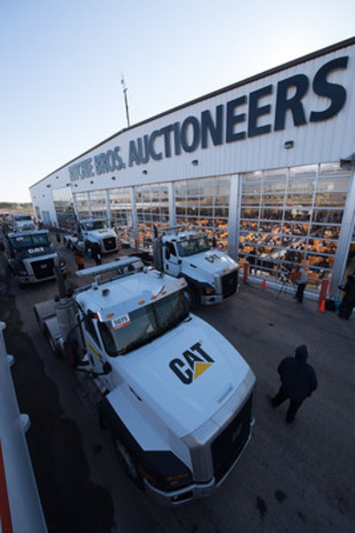 The Ritchie Bros. five-day Orlando auction (February 16 - 20, 2015) featured more than 300 truck tractors. (CNW  ...