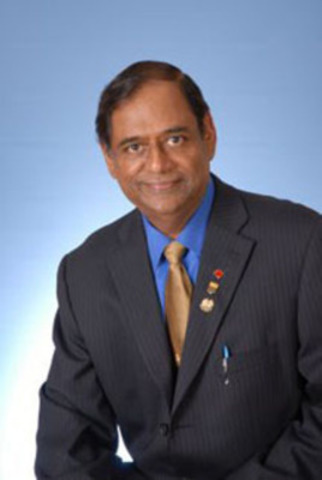 Arul Mylvaganam. (CNW Group/HEART AND STROKE FOUNDATION OF CANADA)