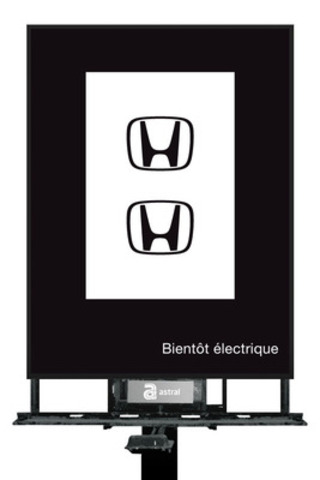 Honda électrique 2. (Groupe CNW/Astral Media Inc.)