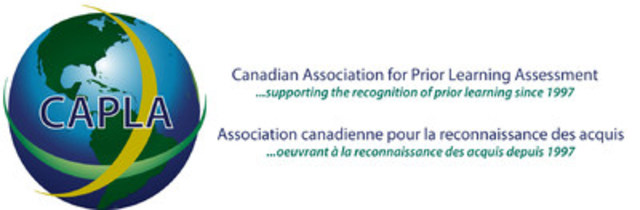 Canadian Association for Prior Learning Assessment (CAPLA) (CNW Group/Canadian Association for Prior Learning Assessment (CAPLA))