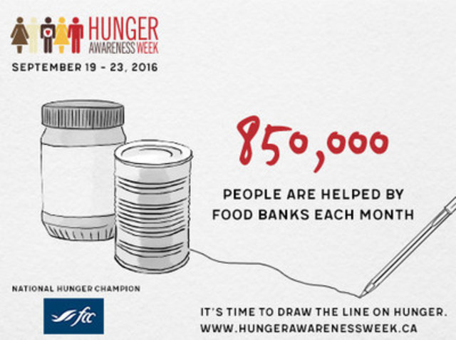 Hunger Awareness Week (CNW Group/Food Banks Canada)