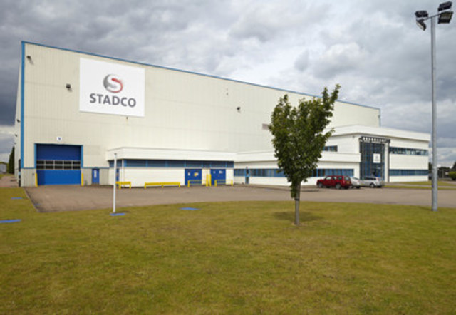 Stadco Telford, UK Facility (CNW Group/Magna International Inc.)