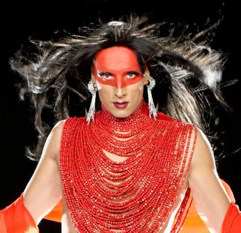 Kent Monkman - Dance to Miss Chief, 2010 - Still from single-channel video - Courtesy of the artist (CNW Group/Musée d'art contemporain de Montréal)