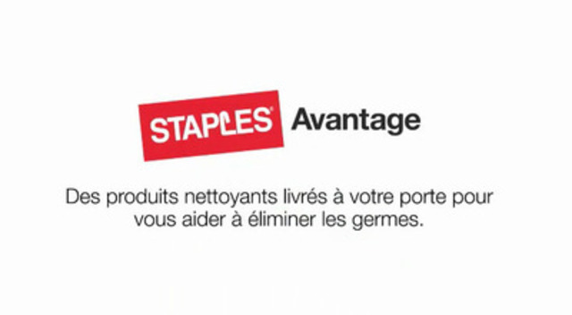 la nouvelle campagne de staples avantage propose des solutions pour lutter contre les germes en. Black Bedroom Furniture Sets. Home Design Ideas