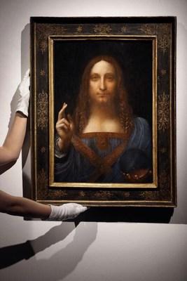 لوحة سلفاتور مندي لدافينشي ستعرض قريباً في اللوفر أبوظبي