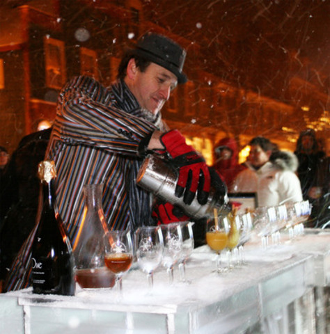 Niagara on the Lake Icewine Cocktail Competition. (CNW Group/Wine Country Ontario)