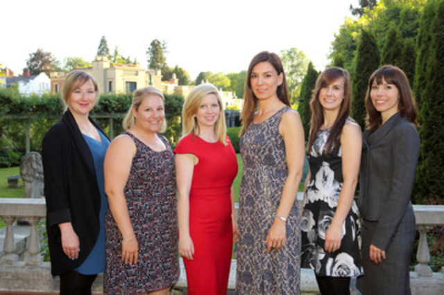 Canadian Women in Public Relations Team Members (CNW Group/The Organization of Canadian Women in Public Relations)