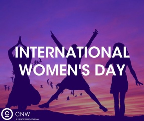 International Women's Day on newswire.ca (CNW Group/CNW Group Ltd.)