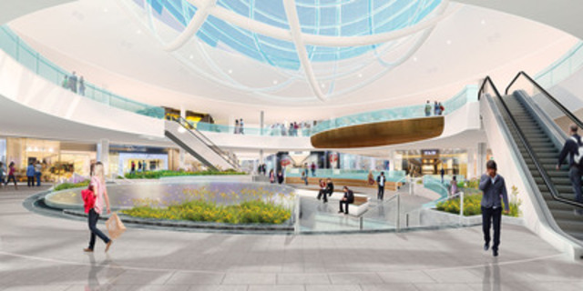 Erin Mills Town Centre - Centre Court (CNW Group/CEDA International Corporation) (CNW Group/Erin Mills Town Centre)