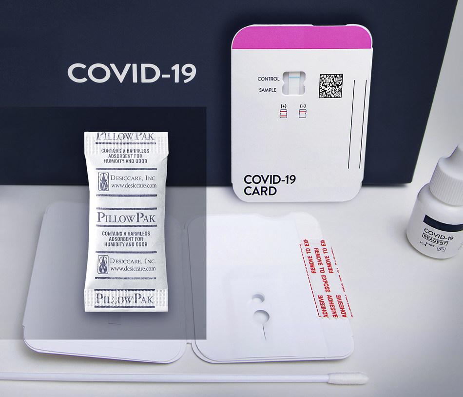 Desiccare, Inc. Les déshydratants maintiennent la sécurité et l'efficacité des kits de test COVID-19, des kits de test de diagnostic et des produits pharmaceutiques