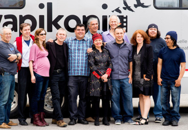 The Wapikoni Mobile Pioneers (CNW Group/Wapikoni mobile)