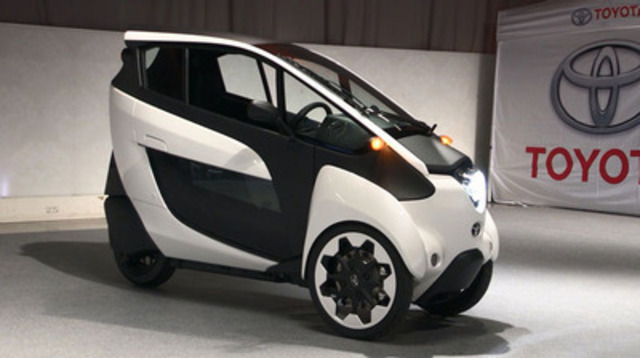 Video: Future of Mobility: The Toyota i-Road Concept Vehicle Makes Canadian Debut At Toronto Auto Show
