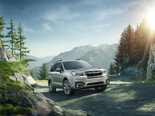 Subaru Forester 2017 (Groupe CNW/Subaru Canada Inc.)