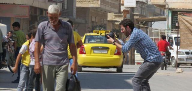 2012 International Press Freedom Award winner Rami Jarrah (CNW Group/Canadian Journalists for Free Expression)