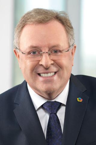 René Rouleau, président du conseil d'administration du CQCM (Groupe CNW/Conseil québécois de la coopération et de la mutualité)