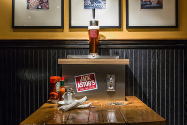 April 1 Alert: Jack Astor's Introduces Coin-operated Beer Taps (CNW Group/Jack Astor's)