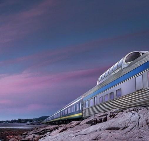 L'Océan (Groupe CNW/VIA Rail Canada Inc.)