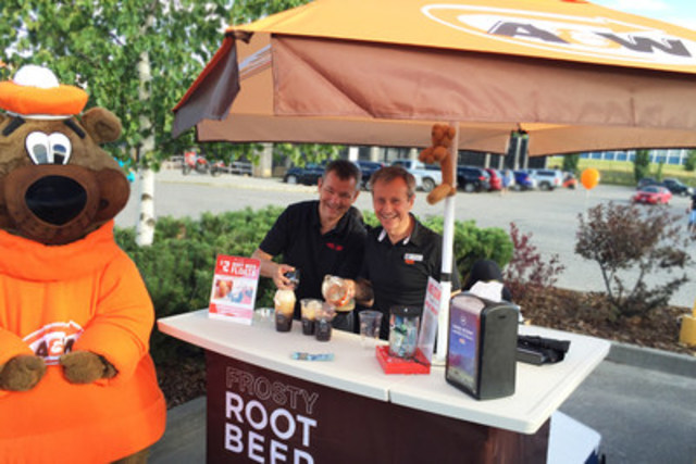 Burgers to Beat MS: On August 25th, A&W Canada and the MS Society of Canada celebrate Burgers to Beat MS, a  ...