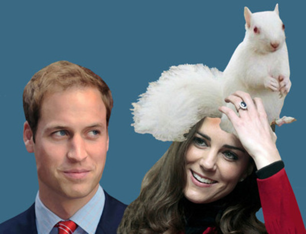 Toronto artist Charles Pachter has created an acrylic and inkjet tribute to Prince William and Kate Middleton available at auction at UnMasked, a May 11 fundraiser for the Centre for Addiction and Mental Health (CAMH), Canada's largest hospital for mental illness and addictions. (CNW Group/CAMH Foundation)