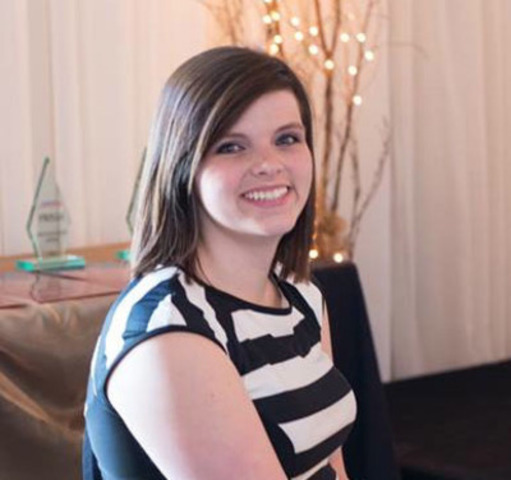 Katie Stewart, 2015 recipient of the CPRS/CNW Student Award of Excellence. (CNW Group/Canadian Public Relations  ...