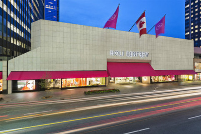 Luxury retailer Holt Renfrew and award-winning airline Air Canada join forces with the new Holt Renfrew TV Channel (CNW Group/Holt Renfrew)