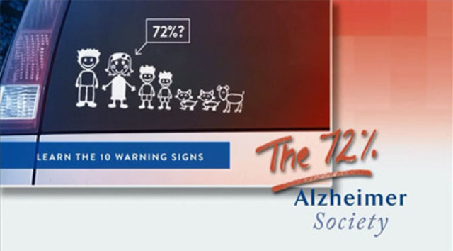 """Video: Alzheimer Awareness Month targets women with """"The 72%"""" campaign"""