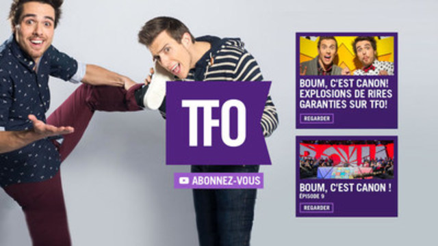 On Air - interactive end for in house promo videos. (CNW Group/Groupe Média TFO)