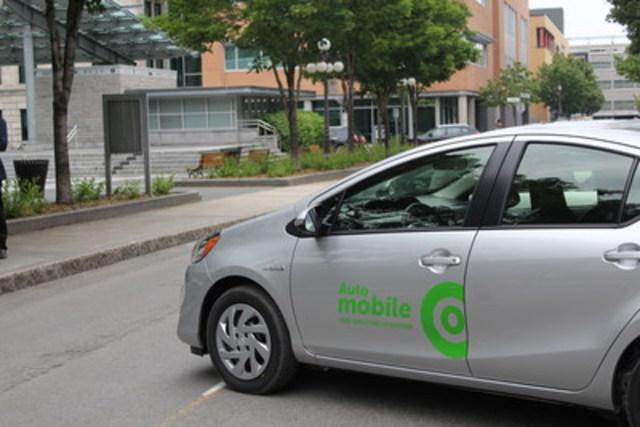 Auto-mobile - libre-service sans réservation de Communauto (Groupe CNW/COMMUNAUTO)