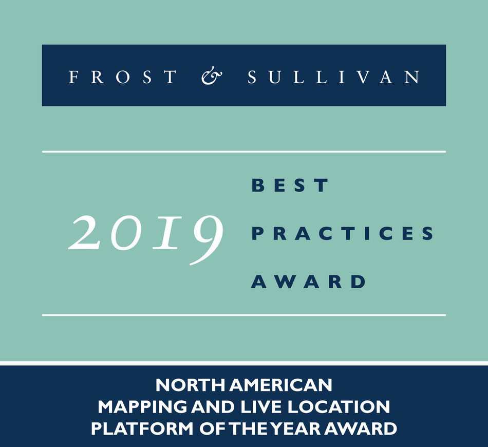 2019 North American Mapping and Live Location Platform of the Year Award