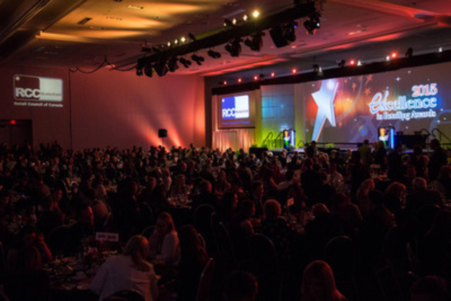 2015 Excellence in Retailing Awards Gala at Retail Council of Canada's STORE 2015 Conference (CNW Group/Retail Council of Canada)