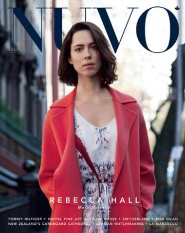 """There's no other profession that I can think of where every aspect of living feeds it,"" says actress Rebecca Hall in the spring 2014 issue of NUVO Magazine. Hall will next appear alongside Johnny Depp in the science fiction film Transcendence, due for release by Warner Bros. on April 18, 2014. www.nuvomagazine.com (CNW Group/NUVO Magazine Ltd.)"
