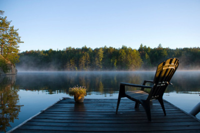 Wolfe Springs Resort near Westport ON - over 40 ownership opportunities available by online auction - Eastern Ontario's most luxurious four season fractional resort. (CNW Group/Gordon's Estate Services)