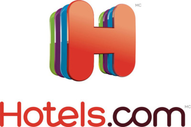 The new hotels.com logo is part of the global rebrand (CNW Group/Hotels.com)