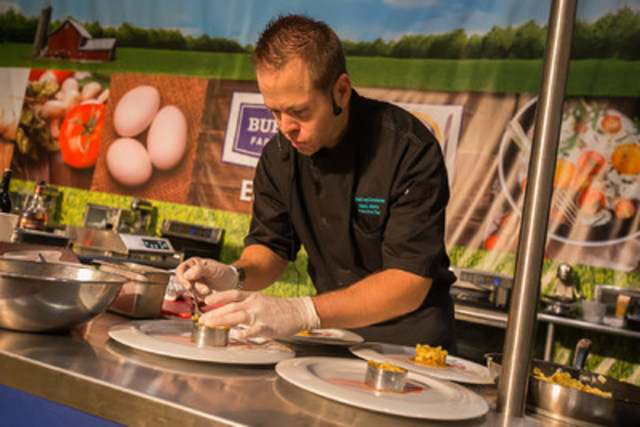 Mark Aleks, Chef at the Palm Beach County Convention Center, claimed top spot in the second annual international chef competition at The Royal Agricultural Winter Fair on Sunday, November 8 (CNW Group/Royal Agricultural Winter Fair)