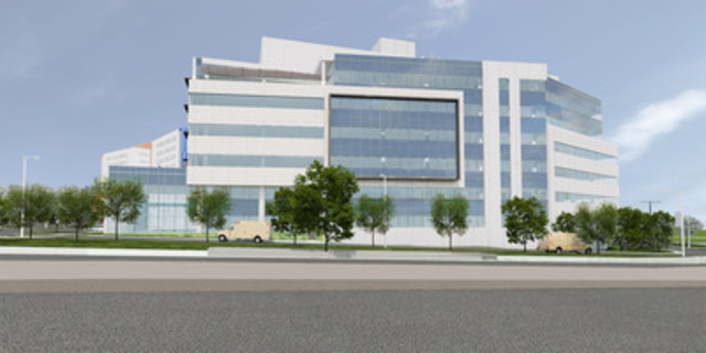The new Shriners Hospitals for Children®-Canada on the Glen Campus. (CNW Group/SHRINERS HOSPITAL FOR CHILDREN (CANADA))