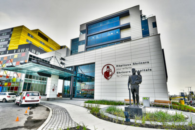 Exterior of the new Shriners Hospitals for Children – Canada. The pediatric orthopedic hospital is based in Montreal but treats children from across Canada (CNW Group/Shriners Hospitals For Children)