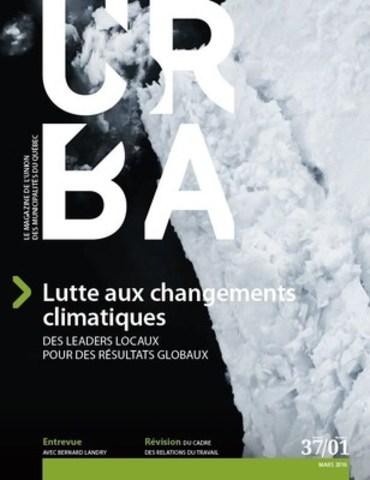 Le magazine URBA de l''Union des municipalités du Québec se donne un nouveau look ! Publié maintenant six fois par année, dont deux éditions numériques URBA EXPRESS, le magazine de l''UMQ est distribué dans toutes les municipalités du Québec. Il rejoint ainsi les quelque 8 000 élues et élus municipaux. (Groupe CNW/Union des municipalités du Québec)