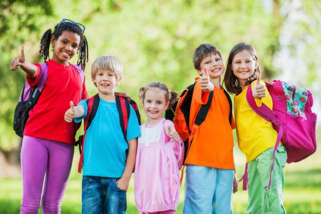 Des milliers de pas parcourus par les enfants. (Groupe CNW/Nature-Action Québec)