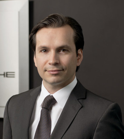 John Cappella becomes Managing Director of the future Porsche Centre North Toronto on March 1, 2016. (CNW Group/Porsche Cars Canada)