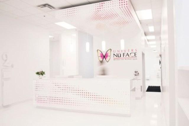 L'intérieur de la nouvelle Clinique Univers NuFace. (Groupe CNW/Clinique Univers NuFace)